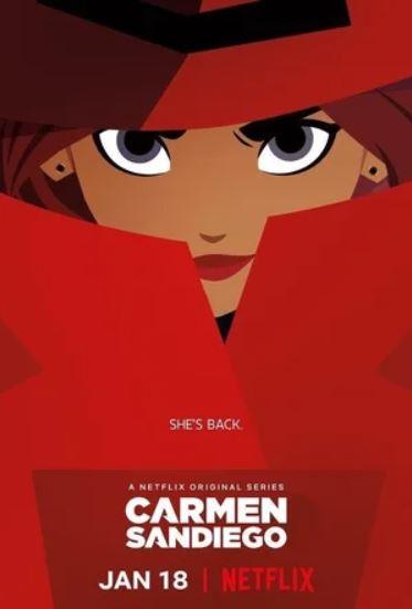 Смотреть фильм Кармен Сандиего онлайн